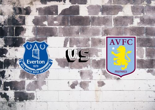 Everton vs Aston Villa  Resumen