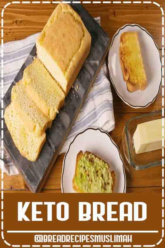 FINALLY, a Keto Bread that doesn't taste like cardboard! #ketobread #ketorecipes #keto #lowcarbbread #delish  #bread #recipes #best #homemade #bread #ever