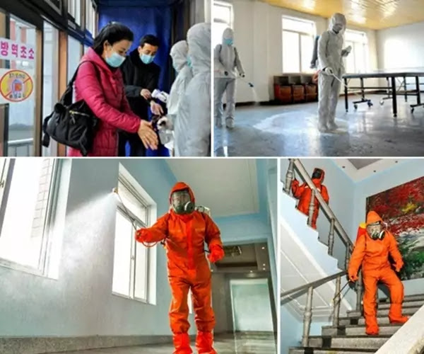 Emergency anti-epidemic work in DPRK