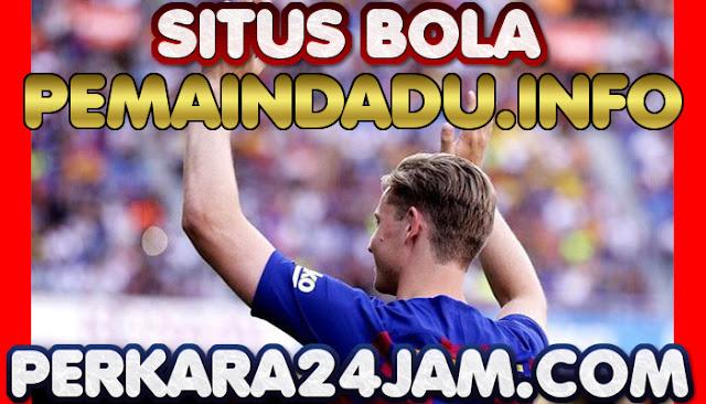 Klub Barcelona Tidak Berencana Jual Frenkie De Jong Ke Juventus