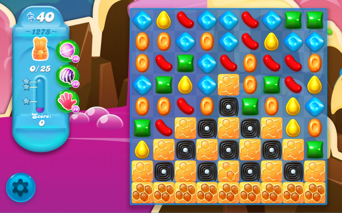 Candy Crush Soda Saga level 1278