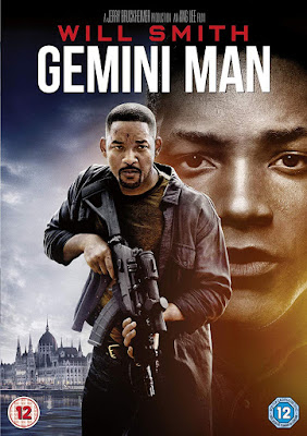 Gemini Man DVD cover showing Will Smith and young Will Smith