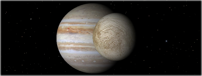 Europa, lua de Júpiter, pode abrigar vida