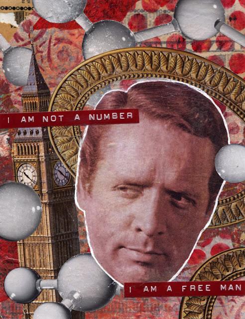 Collage -- TV Saint -- The Prisoner