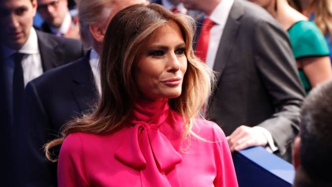 US election: Donald Trump accusers telling lies, says Melania