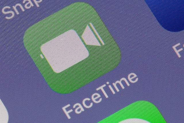 Apple's iOS 13 system allows us to intimate the FaceTime app
