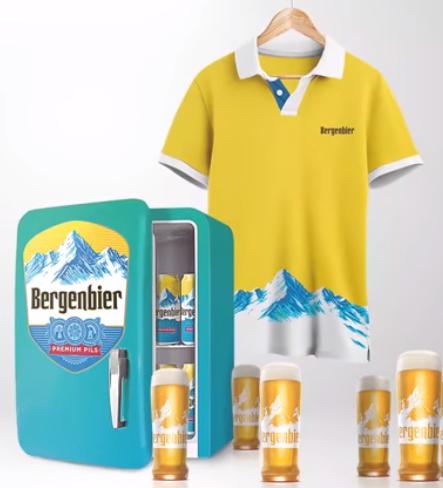 Concurs Bergenbier - Castiga un frigider plin de bere pentru tine si multa bere pentru 5 prieteni - devino lansator - 2021 - castiga.net