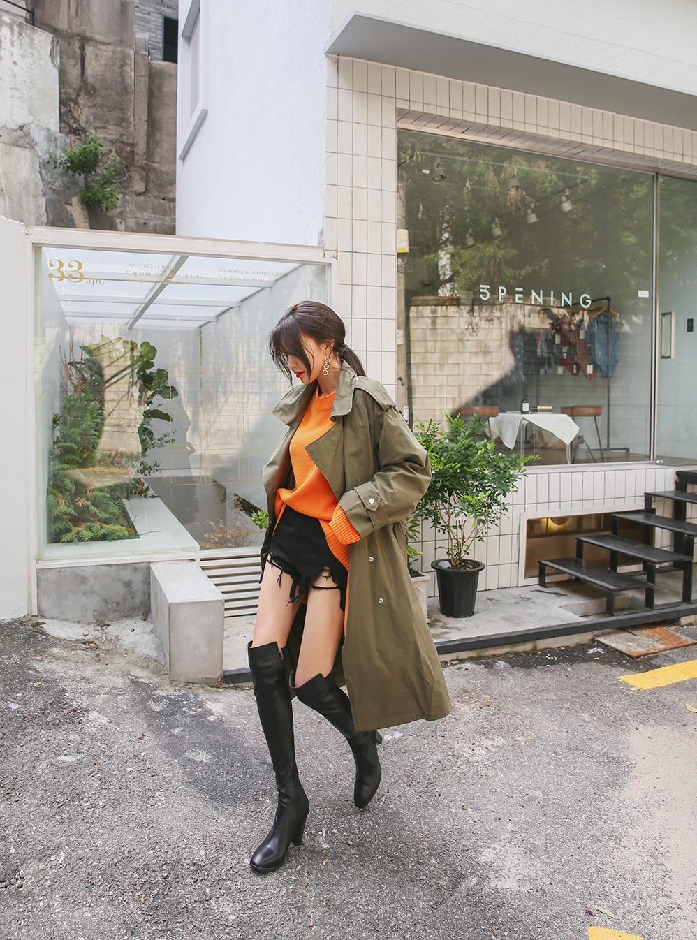 Korean Model Kim Hye Ji in Fashion Set September 2017