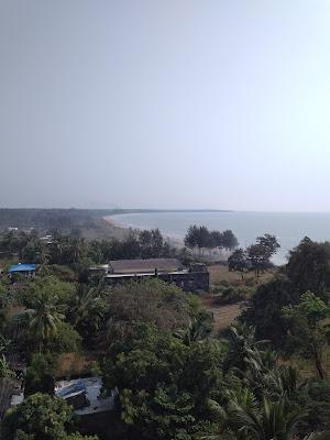 Satpati Lighthouse in Satpati in Maharashtra