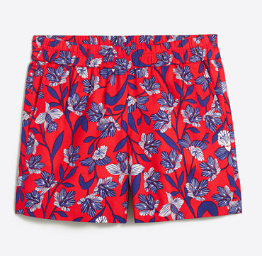 j Crew Patterned Shorts