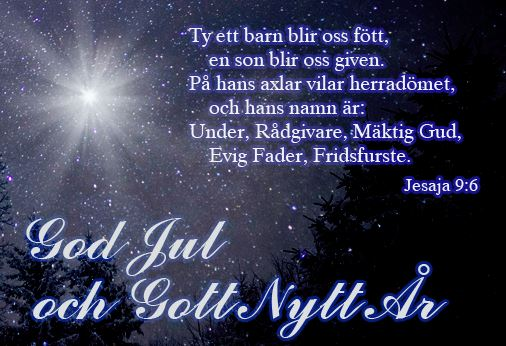 god jul och gott nytt år text bilder