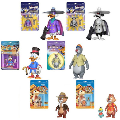 Disney Afternoon Action Figures by Funko - DuckTales, TaleSpin, Darkwing Duck & Chip 'n Dale Rescue Rangers!
