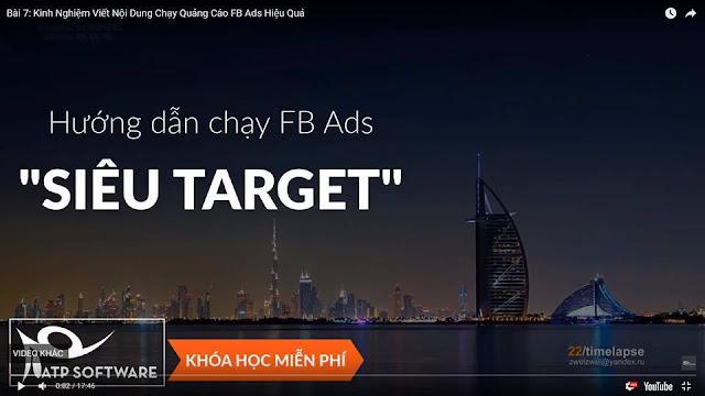 """[ CHIA SẺ ] Share khóa học """" SUPER TARGET"""" cho anh/em nào chạy ads"""