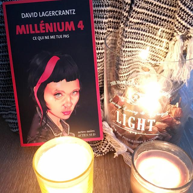 Chronique littéraire Millénium 4 par Mally's Books