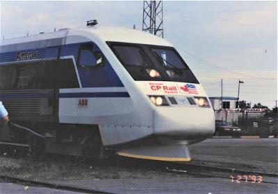 ABB X2000 Train