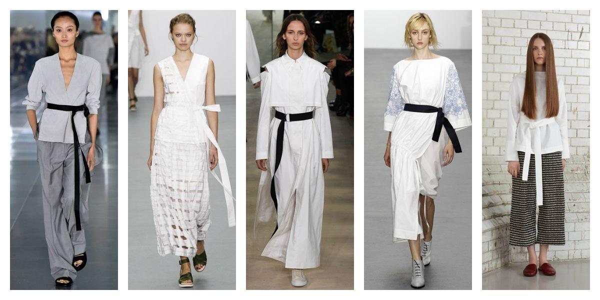 lfw ss16 trend report accessories ribbon belt amanda wakeley