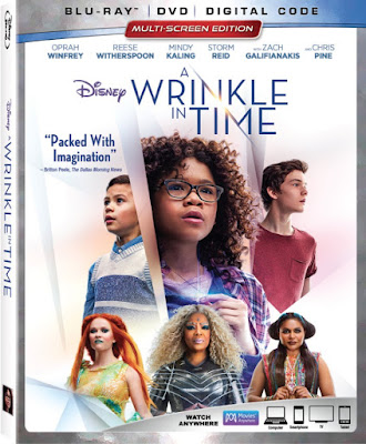 Disney's A Wrinkle In Time Movie DVD