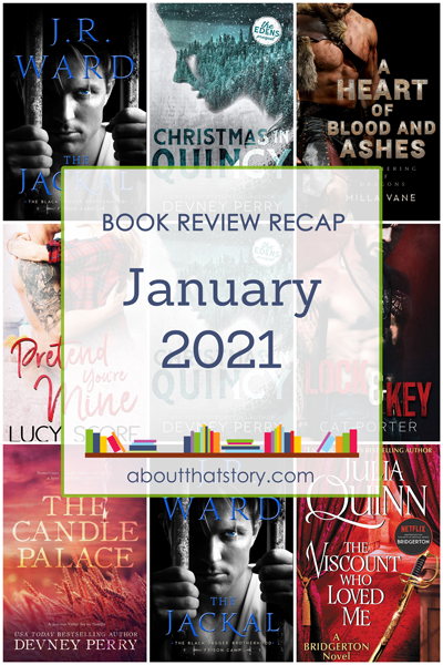 Book Review Recap January 2021 | About That Story