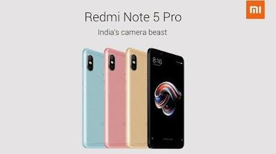 ini Dia LengkapnyaSpesifikasi Xiaomi Redmi Note  Spesifikasi Xiaomi Redmi Note 5 Pro Terungkap, ini Dia Lengkapnya
