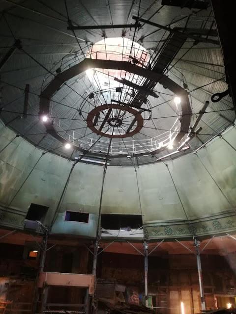 2021 год. Внутри рижского цирка. Фото: Вадим Шадрунов