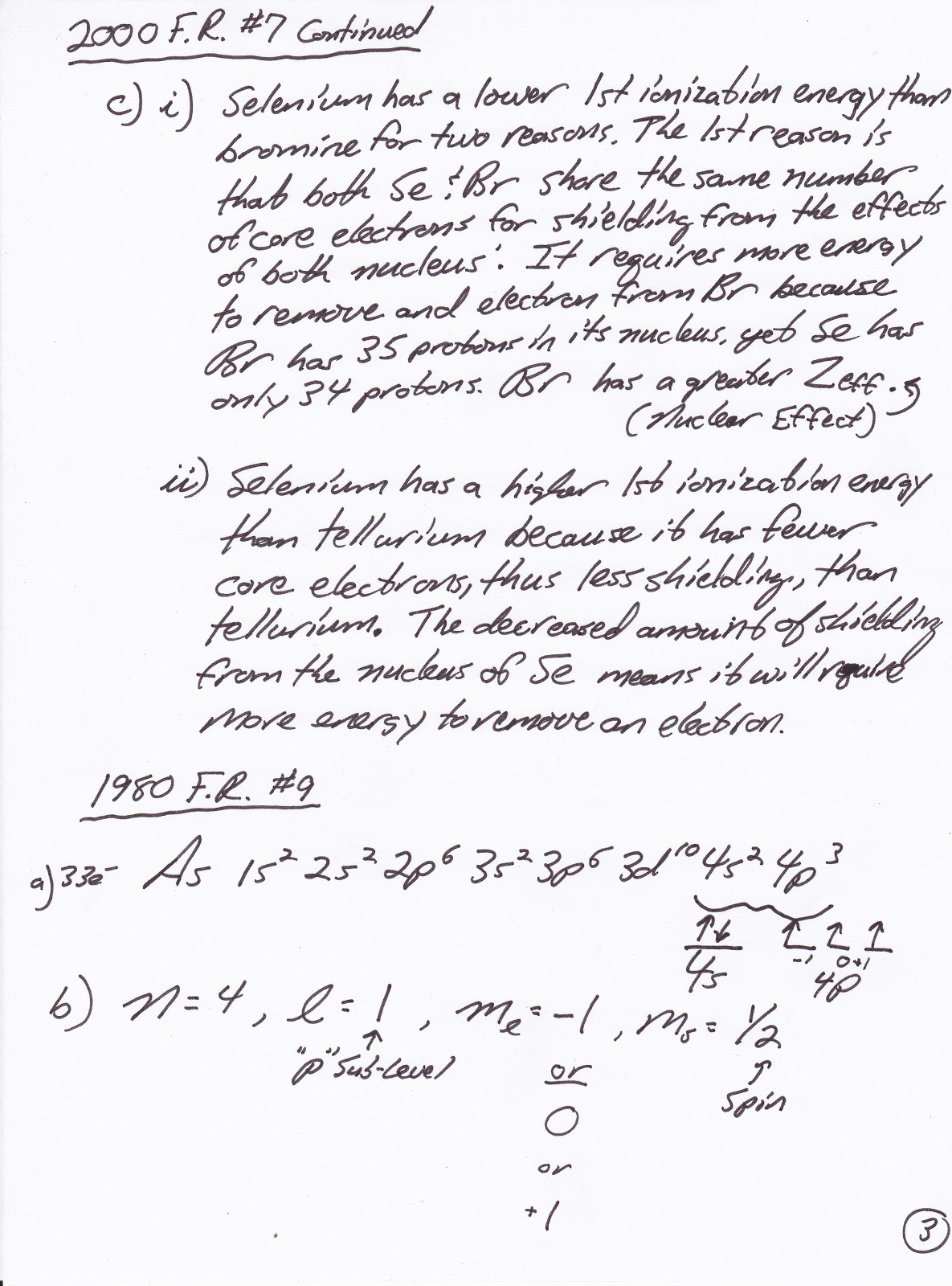 Ap Chemistry Blog