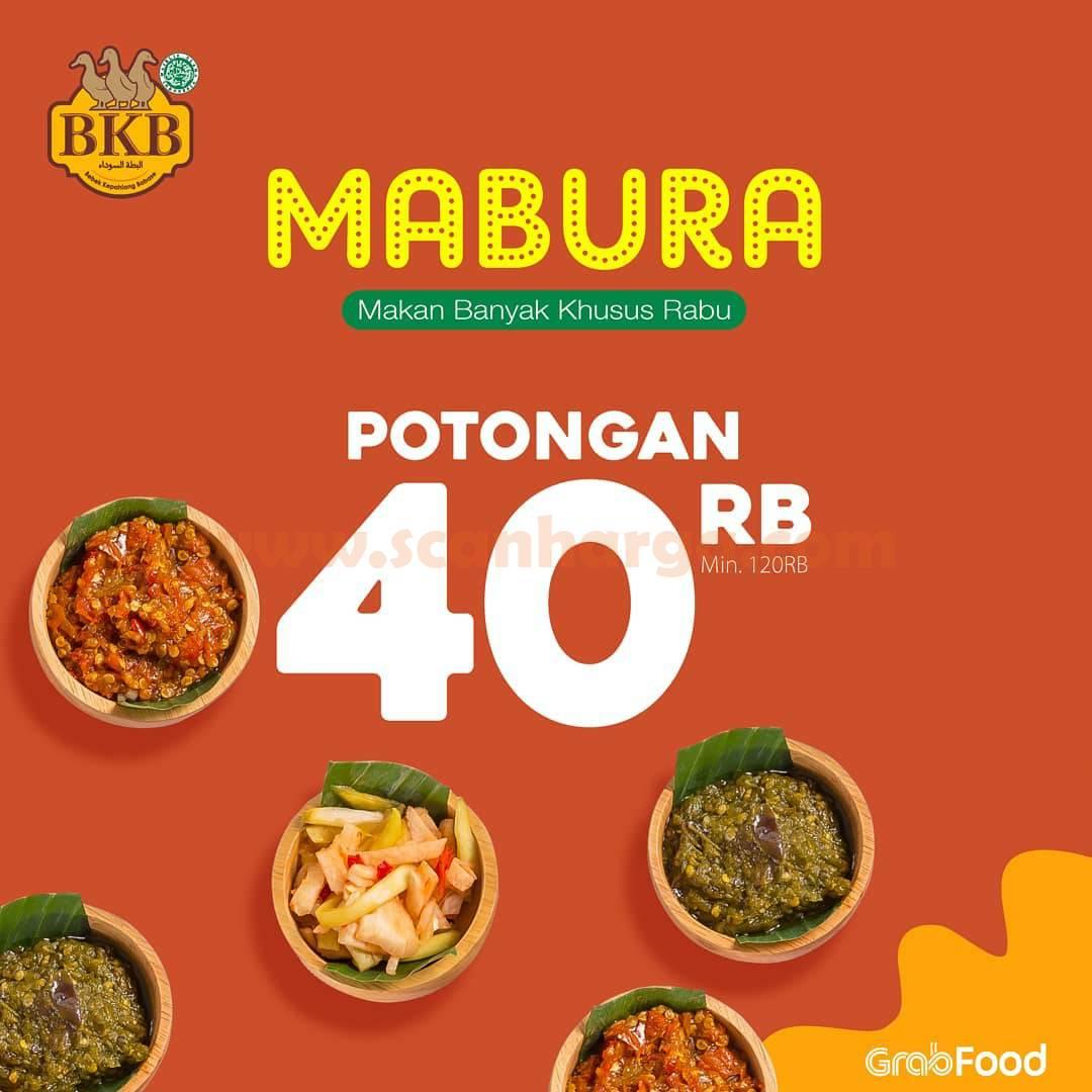 BEBEK BKB Promo MABURA – DISKON Rp 40.000 Setiap Rabu!