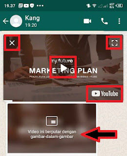 cara mengaktifkan dan menggunakan pip whatsapp di oppo