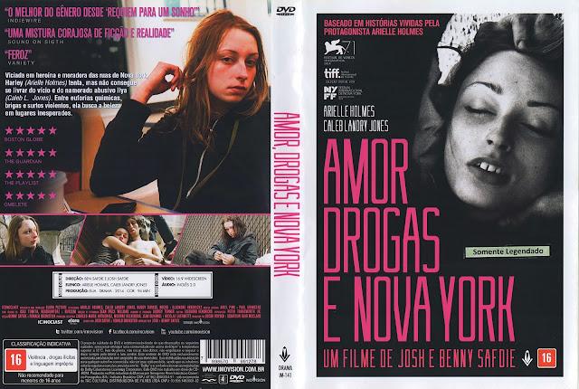 Capa DVD Amor, Drogas e Nova York