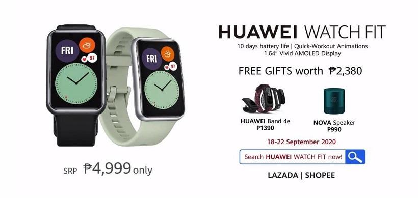 Huawei Watch Fit Pre-orders
