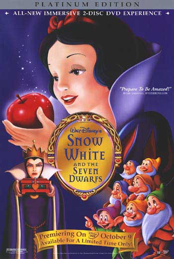 Animated Children S Films Snow White And The Seven Dwarfs