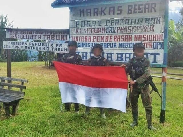 Viral Foto TNI Rebut Markas OPM, Begini Ceritanya