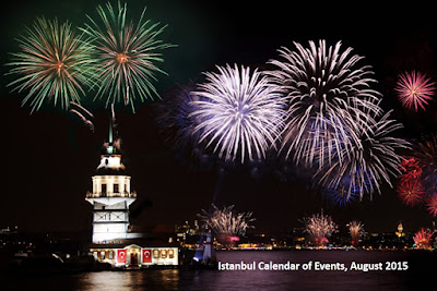 Istanbul Calendar of Events, August 2015