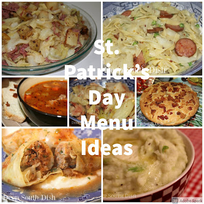 St. Patrick's Day recipe ideas from Deep South Dish.