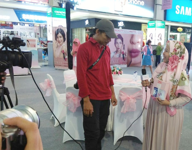 Pemenang Asian Beauty Blogger gathering Palembang PIXY Agustus 2017 Launching Lip cream nude series terbaru
