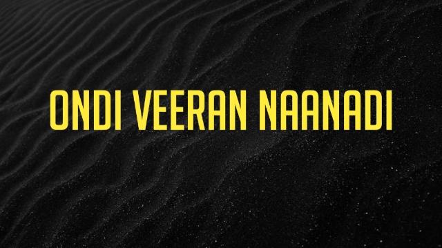 Ondi Veeran Naanadi Ringtone Download