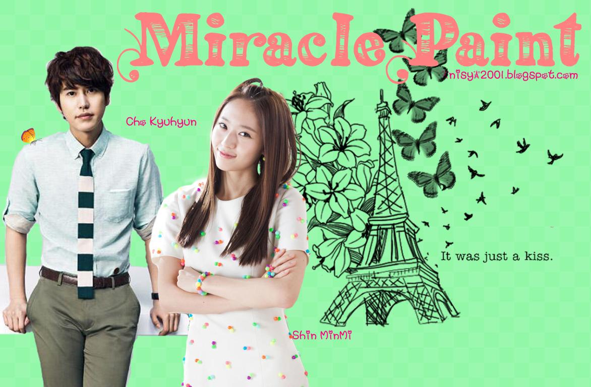 """Aryana S.: """"Miracle Paint"""" [FF Kyuhyun - Oneshoot - KyuMin]"""