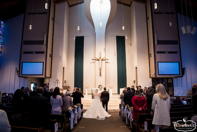 couple getting married at St Margaret Mary