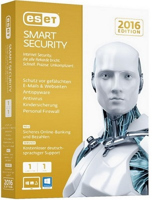 ESET Smart Security 10.1.219.0 poster box cover