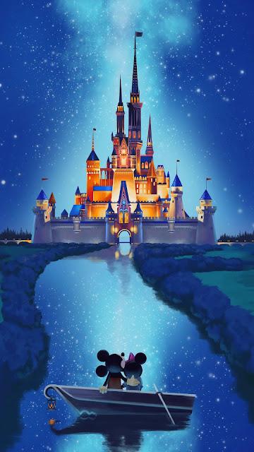Disney Castle aesthetic wallpaper
