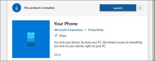 هاتفك في متجر Microsoft