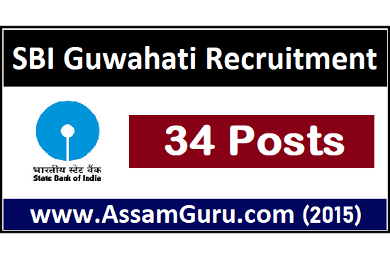 Jobs in SBI Guwahati Job 2020
