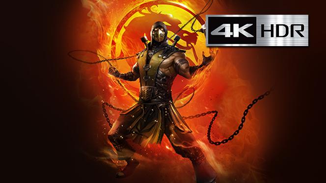Mortal Kombat Leyendas: La venganza de Scorpion (2020) 4K UHD [HDR] Latino-Ingles