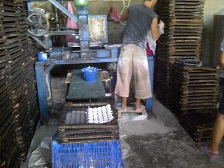 mesin cetak kemplang ikan