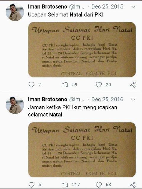 TERCYDUK Ngetwit tentang PKI, Akun Twitter Dirut TVRI Mendadak Lenyap, NGACIR?