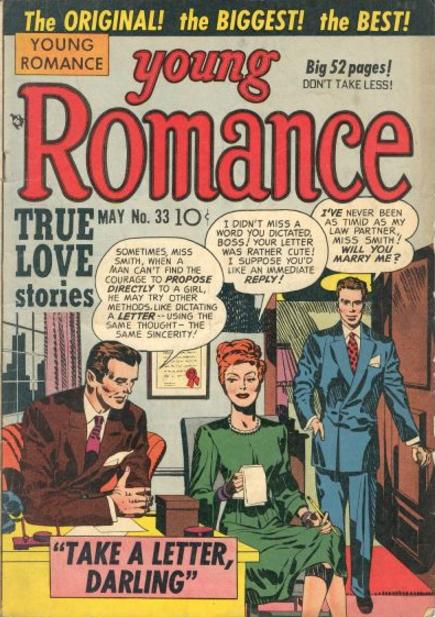 Jack Kirby Young Romance