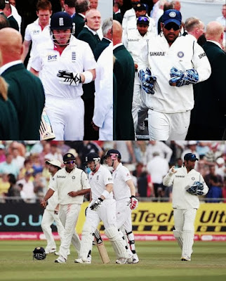 MS Dhoni recalled Ian Bell spirit of cricket 2011 Top 10 Spirit of Cricket moments of the century