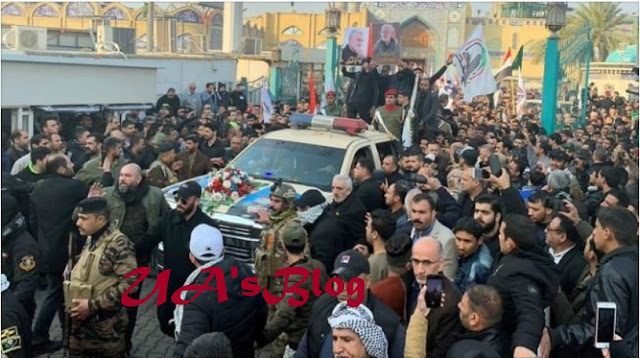 Iranian general to be buried on Tuesday