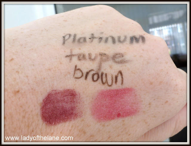 Clarins Graphic Expression Swatches and Review