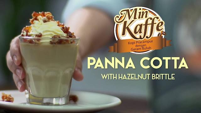Panna Cotta Min Kaffe yang sungguh lazat rasa Min Kaffe