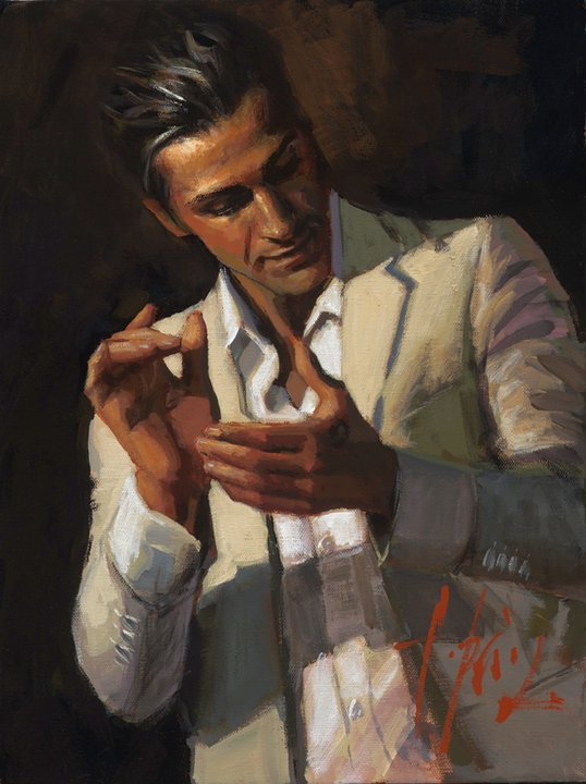 Fabian Perez, 1967 | Male painting | Tutt'Art@ | Pittura ...